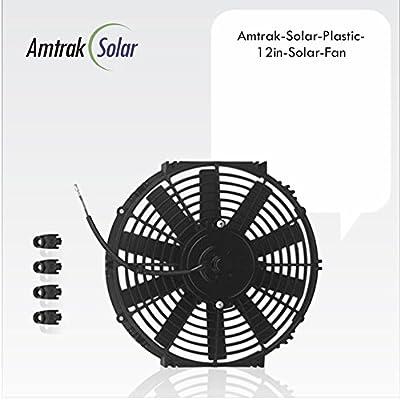 Amtrak Solar Fan, Most Powerful Fan Motor