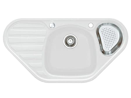 Franke Kitchen Sink Calypso COG 651/Glacier Granite Sink White ...