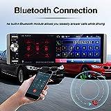 Single Din Car Stereo Touchscreen Car Radio 4.1