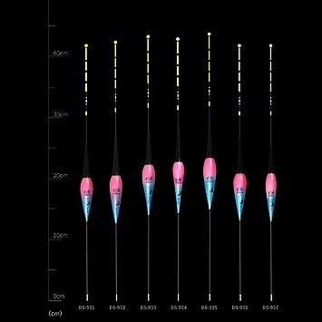 Schwerelosigkeit Induktion Nachtfischen Angelzubeh/ör Smart Fishing Float mit Smart Alarm Biss Haken Fischen Schwimmt 2 teiliges Posen Laufposen Angeln