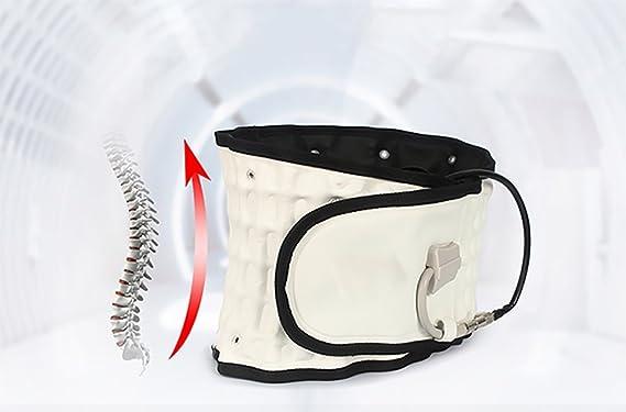 YZAM Cinturón De Descompresión Lumbar Tracción Inflable Backach De ...