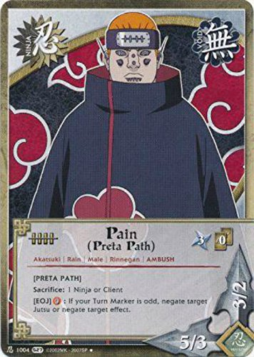 Naruto Card - Pain (Preta Path) [Preta Path] 1004 - Starter Set - Uncommon