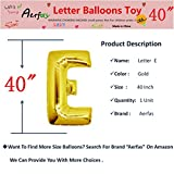 Aerfas 40 inch Gold letters