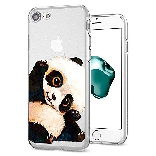 Apple Silicone Custodia Proteggi Cover 7 7 Completa Cristallo Case 8 diamante TPU 8 scintillante Morbida iPhone Trasparente Sottile Copertura Bordo per 3 iphone RttqnrIwU