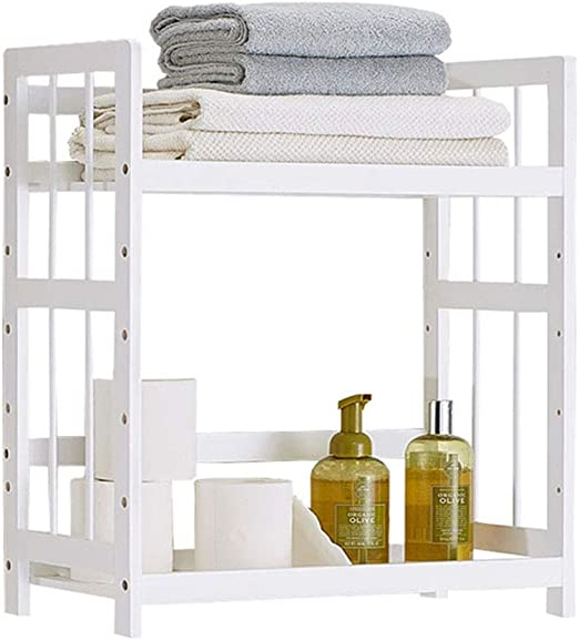 LJFYMX toallero Toallero de Almacenamiento de baño toallero baño: Amazon.es: Hogar