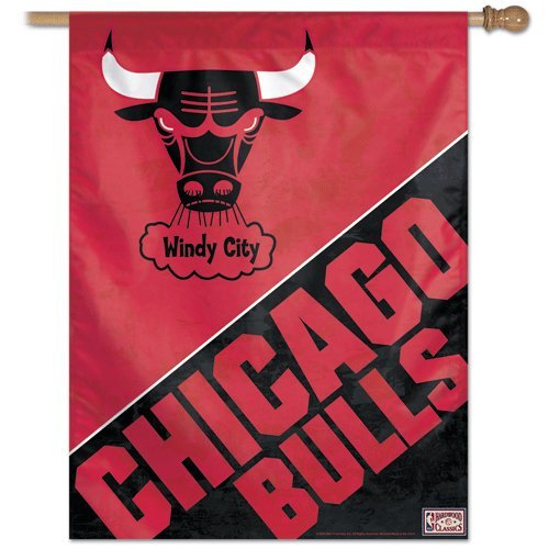 NBA Chicago Bulls 27-by-37-Inch Vertical Flag-Hardwood Classics