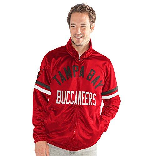 Buccaneers Jacket Tampa Bay (G-III Sports NFL Tampa Bay Buccaneers Veteran Track Jacket, X-Large, Red)