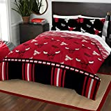 The Northwest Company NBA Chicago Bulls Queen Bed in a Bag Complete Bedding Set #856418619