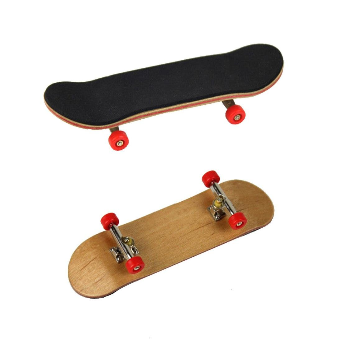 Mini Diapas/ón de Madera de Arce Fingerboard Skate Adultos ni/ños Juguete Gran Regalo AmaMary Patineta de Dedo Negro