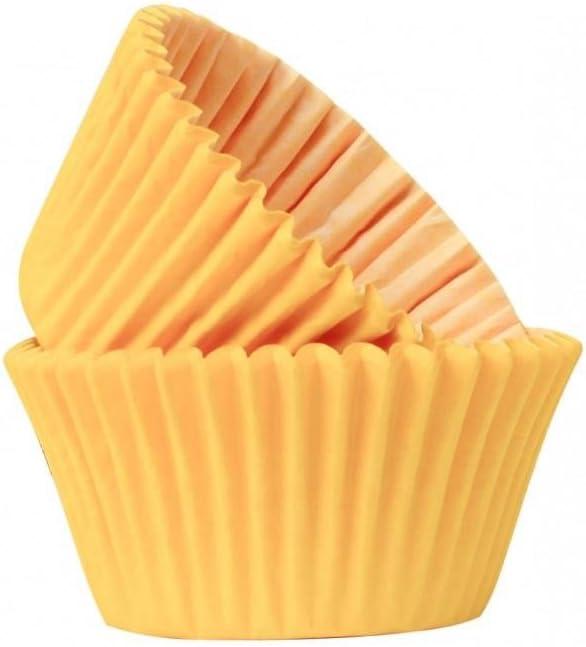 50 Muffin Case Yellow