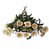 Yunko-2-Pack-Fake-Floral-Daisy-Silk-Flower-Little-Sunflowers-High-Quality-Artificial-Flower-Home-Hotel-Office-Wedding-Party-Garden-Craft-Art-Decor-14-Inch-white