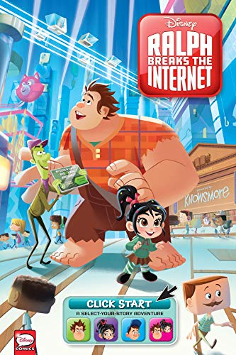Disney Ralph Breaks the Internet: Click Start– Select-Your-Story Adventure (Graphic Novel)