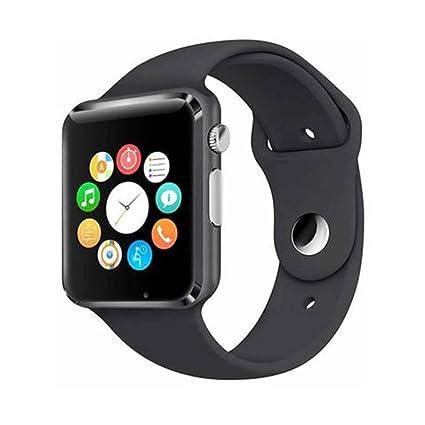 189ab810a6a Go apna bazar Black A1 Bluetooth Smart Watch Sport SIM Card and TF Card  with Camera