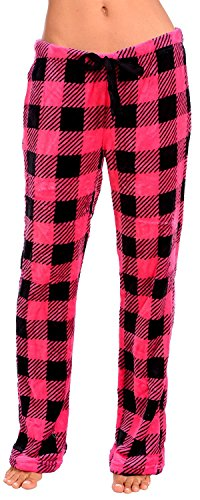 Body Candy Womens PJS Cozy Fleece Plush Pajama Pants