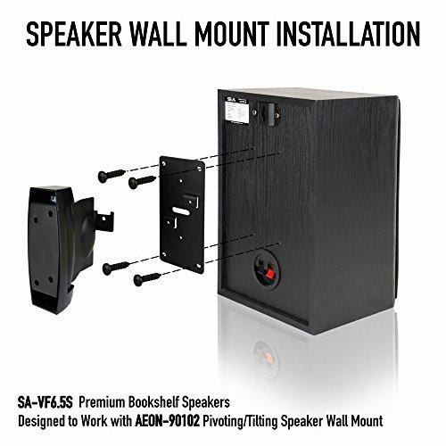 Heavy Duty Speaker Wall Mount For Bookshelf Large Or