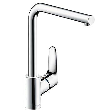 Bevorzugt hansgrohe Focus Küchenarmatur (Wasserhahn Küche ohne Schlauchbox ZK73