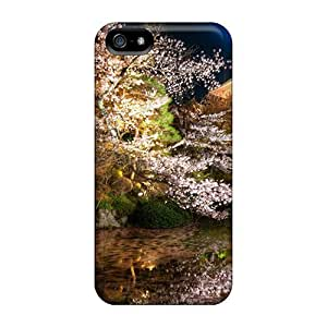 Excellent Design Beautiful Garden Phone Case For Iphone 5/5s Premium Tpu Case