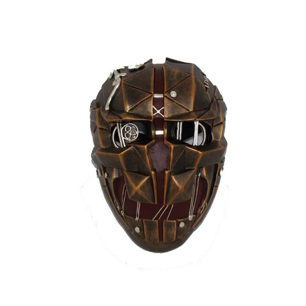 Littlefairy Masken für Erwachsene,Harz-Maske Cosplay Halloween Assassin Maske