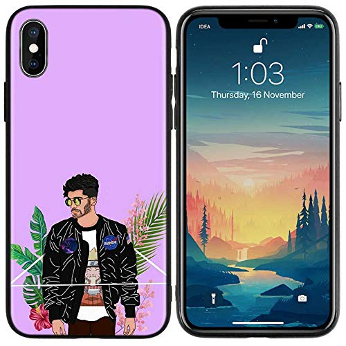 Inspired by Zayn Malik Phone Case Compatible With Iphone 7 XR 6s Plus 6 X 8 9 Cases XS Max Clear Iphones Cases TPU Not Coloring Coloring Sweatshirt 33047948138 Direction