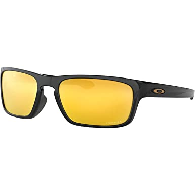 d9893f635b2be Oakley - Sliver Stealth Asian Fit - Polished Black Frame-24k Iridium Lenses   Amazon.co.uk  Clothing