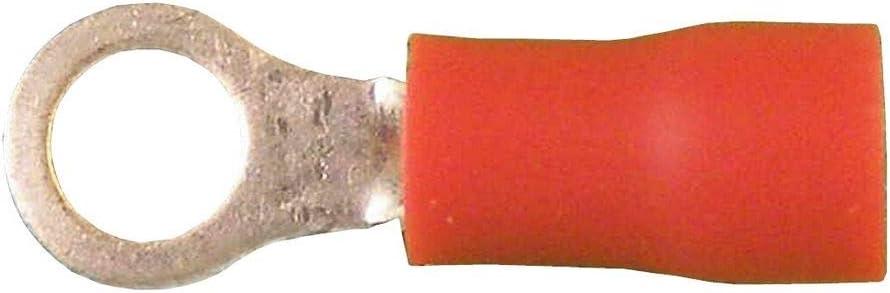 5-1,5qmms 4,3 Rouge Lot de 10 Cosse ronde isol/ées 0