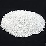 White Glass Seed Beads Beading Sz 11/0 Approx 1/2 Kilo