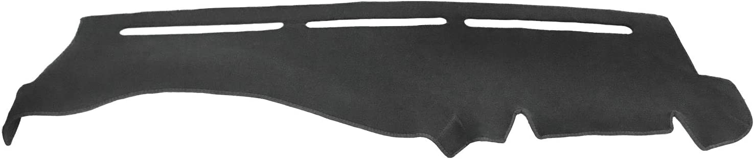 Dash Cover Mat for 2007-2014 Chevy Chevrolet Tahoe Suburban 1500,Chevrolet Avalanche Silverado 1500 LTZ 2007-2013,GMC Yukon All Models 07-14, Dashboard Cover Pad Protector w/o Dash Speaker (black)F24