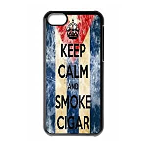 Cuba Flag Custom Cover Case for iPhone 5C by Nickcase