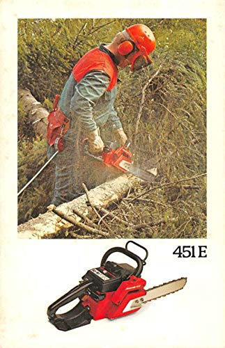 Jonsereds Chainsaw Logging Lumber Advertising Vintage Postcard JB626480