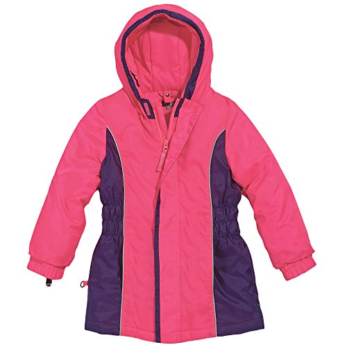 Toddler Girl Hot Pink and Purple Waterproof Winter Parka by Cozy Cub, Size 2T ()