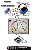 Genuine JPV2015 Product - Traxxas VXL Dual Fan Wiring Harness - Plug & Play - Slash - Stampede - Rustler - This harness allows use of TWO fans powered by single output on VXL ESC. - Premium Quality - Handmade in USA exclusively by JPV2015
