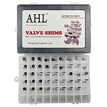 AHL Adjustable Valve Shim Kit 9.48mm O.D. 1.20mm-4.00mm Thick for Suzuki GSX-R750/GSX-R1100 1991-1992 (44pcs)