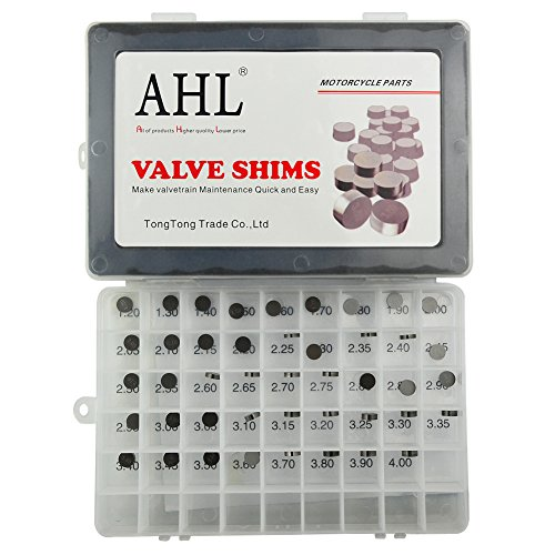 AHL Adjustable Valve Shim Kit 9.48mm O.D. for Yamaha YZ450F YZ450 F 2003-2012 (44pcs)