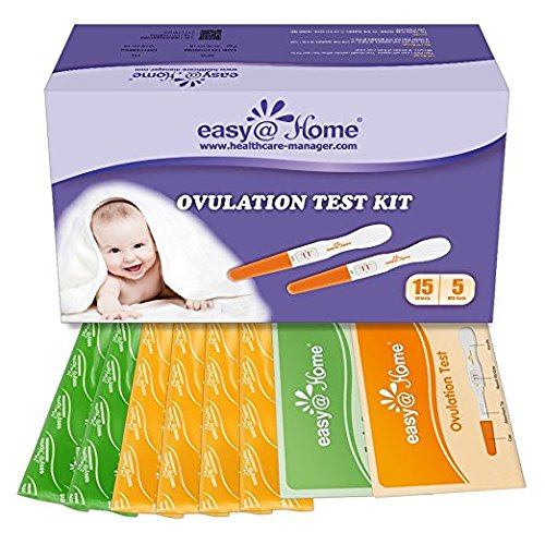Easy@Home 15 Ovulation (LH) and Plus 5 Pregnancy (hCG) Test Sticks, Midstream Fertility Test Kit Powered by Premon Ovulation Predictor App by Easy@Home (Image #6)