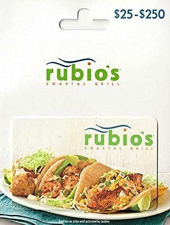 Rubio's Gift Card
