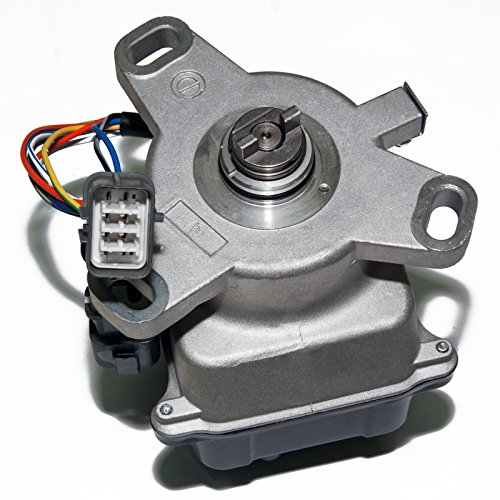 (MAS VTEC Ignition Distributor w/Cap & Rotor TD-42U TD42 TD-48U for 92-95 Honda Civic 1.5L 1.6L VTEC VX EX SI 30100-P08-006 30100P08006)