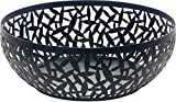 Alessi MSA04/29 B''CACTUS!'' Fruit Holder in Steel Coloured With Epoxy Resin, Black