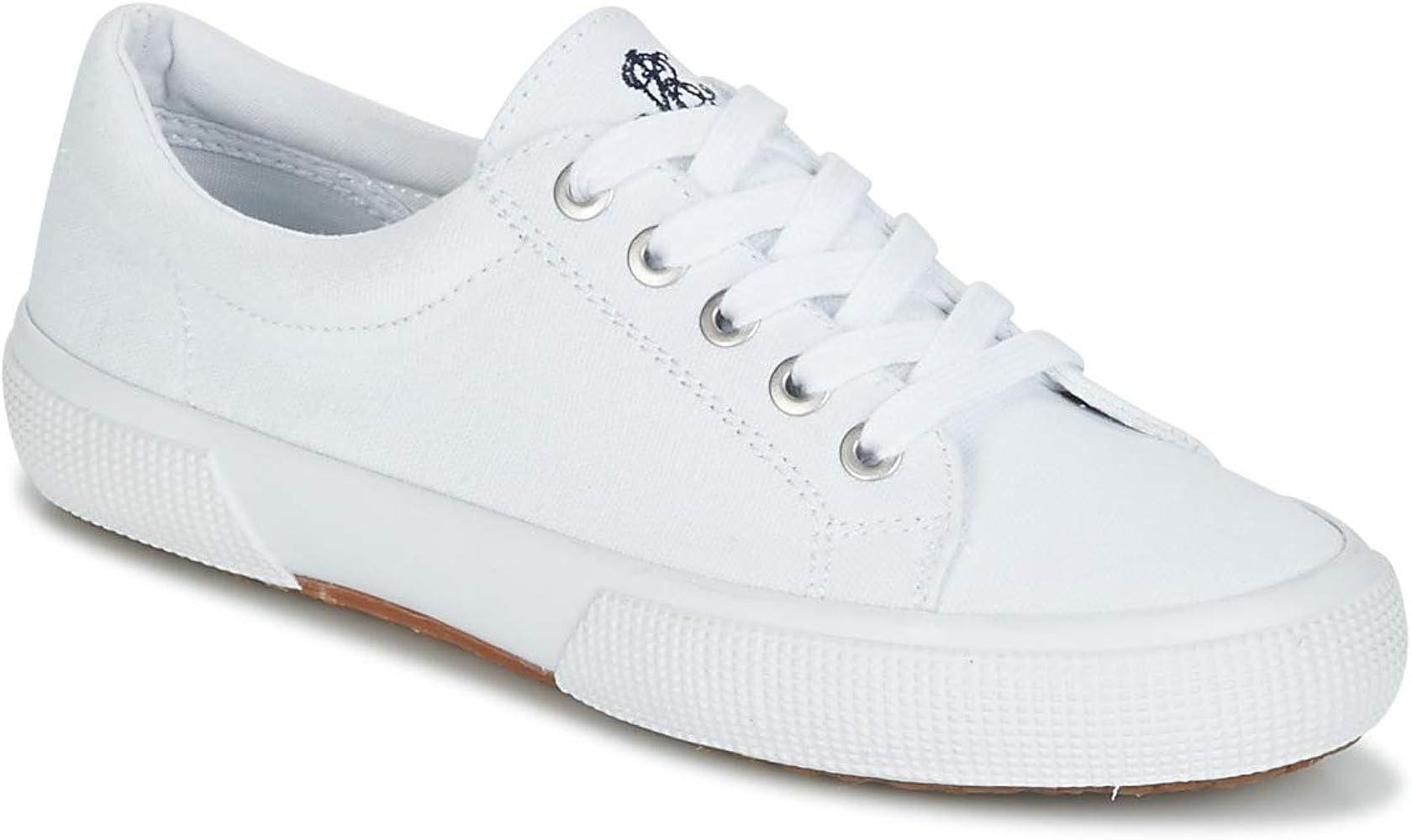 Zapatillas Polo Ralph Lauren Jolie SK VLC - Color - Blanco, Talla ...