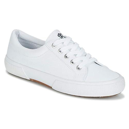 Ralph Lauren Zapatilla 802-533956-001 Jolie 38 Blanco: Amazon.es: Zapatos y complementos