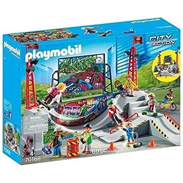 Playmobil Pista de Skate 70168: Amazon.es: Juguetes y juegos