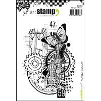 Carabelle Studio 3 Mini Friezes Cling Stamp, White/Transparent, A7_P