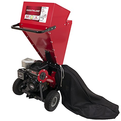 Southland SCS2052 Chipper Shredder with Briggs and Stratton Engine and a 2.5