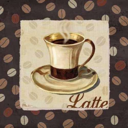 "Cup of Joe III by Paul Brent - 20"" x 20"" Giclee Canvas Art Print"