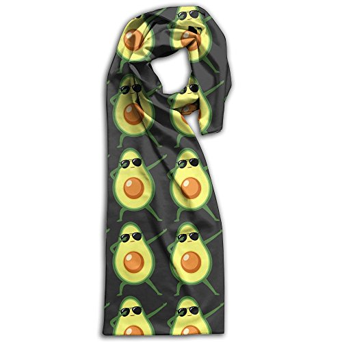 Dabbing Avocado With Sunglasses Winter Light.Lightweight Scarf Print Soft Warm Towel Smelless.New Style.Fashion.Fever Stylish Scarves Best - Einstein Sunglasses