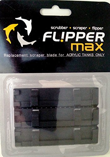 Flipper 3 Piece Replacement Acrylic Blades for Tanks by Flipper
