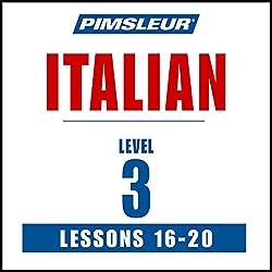 Italian Level 3 Lessons 16-20
