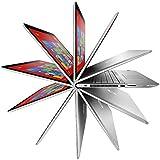 HP Envy 15.6 x360 2-in-1 Convertible Full HD IPS Touchscreen Laptop| Intel Core i7-7500U | 8GB RAM | 1TB HDD + 128GB SSD | Backlit Keyboard | Bluetooth | HDMI | B&O Play | Windows 10 (Silver)