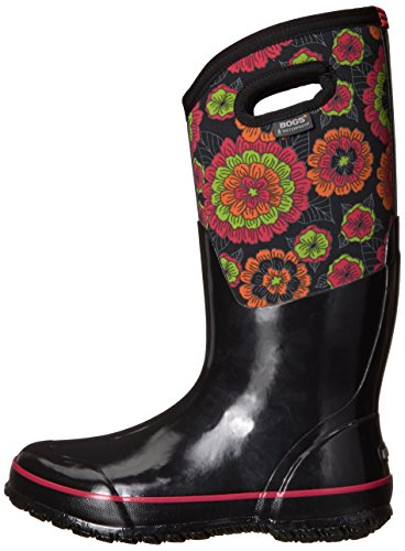 uk Pansies Classic Bogs 43 72117 9 Warm Black Wellies Boot eu Waterproof Ladies Insulated H6nwqnF1f