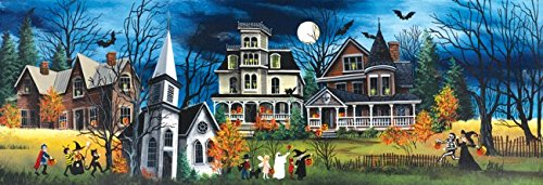 Spooky Lane 500 Piece Jigsaw Puzzle by SunsOut