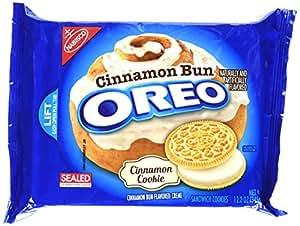Oreo Golden Sandwich Cookies, Cinnamon Bun, 12.2 Ounce